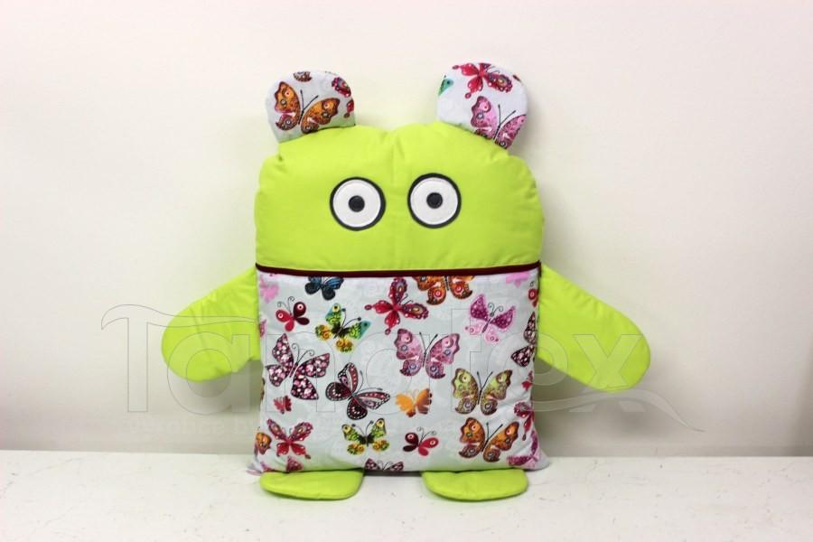 Pyžamožrout - Zelený s motýly
