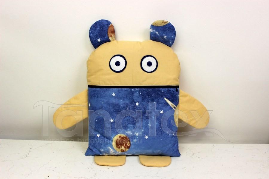 Pyžamožrout - Vesmírný návštěvník + uni béžová