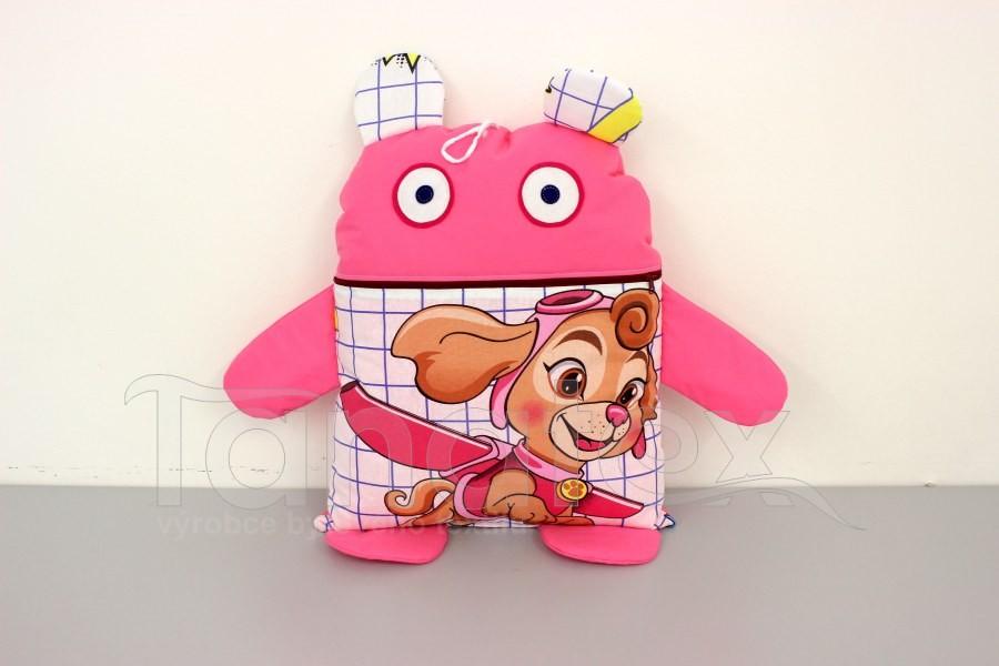 Pyžamožrout - Růžová létající holčička. Poslední kus